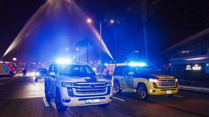 Toyota Land Cruiser 300 Jadi Armada Baru Polisi di Dubai dan Abu Dhabi