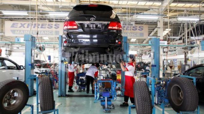 Layanan di Bengkel Turun 40 Persen, Toyota Mobile Service Malah Naik 2 Kali Lipat