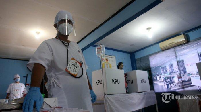 Satgas: 90,28 Persen TPS Pilkada Sediakan Fasilitas Cuci Tangan dan 77 Persen Lakukan Desinfeksi