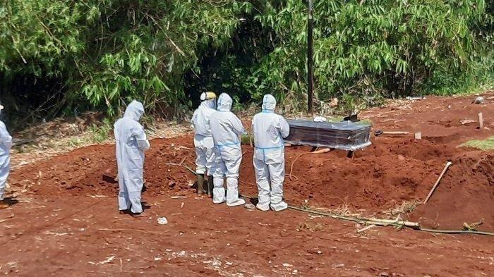 Jelang Akhir Tahun, Pemakaman Jenazah Terinfeksi Covid-19 di TPU Jombang Ciputat Meningkat
