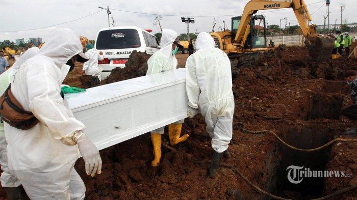 Kematian Pasien Covid-19 di Indonesia Tertinggi di Dunia, Kemarin Mencapai 1.280 Orang
