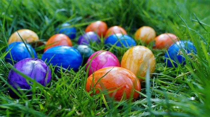 ilustrasi telur Paskah