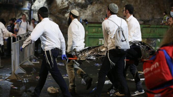 40 Orang Tewas di Acara Akbar Liburan Warga Yahudi Ortodoks Israel