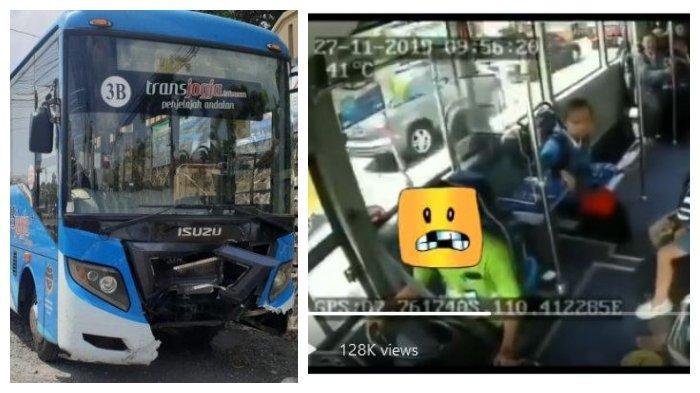 Kondisi bus TransJogja dan rekaman CCTV dalam bus.