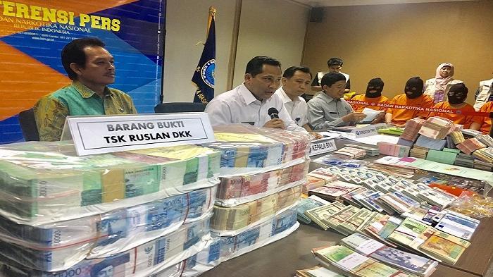Sepanjang 2016, BNN Ungkap Transaksi Uang Narkotika RP 2,7 T Ke 11 Negara