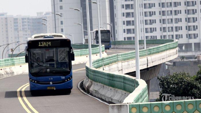 Sejumlah Ruas Jalan Ditutup Jelang Pelantikan Presiden, Begini Pengalihan Rute Bus Transjakarta