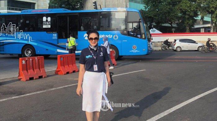 Kepala Divisi Sekretaris Perusahaan dan Humas PT Transportasi Jakarta, Nadia Diposanjoyo.
