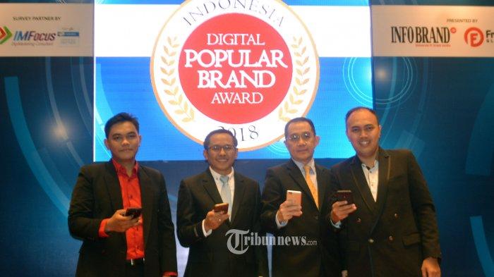 TRAS N CO Indonesia Beri Penghargaan Indonesia Digital Popular Brand Award (IDPBA) 2018