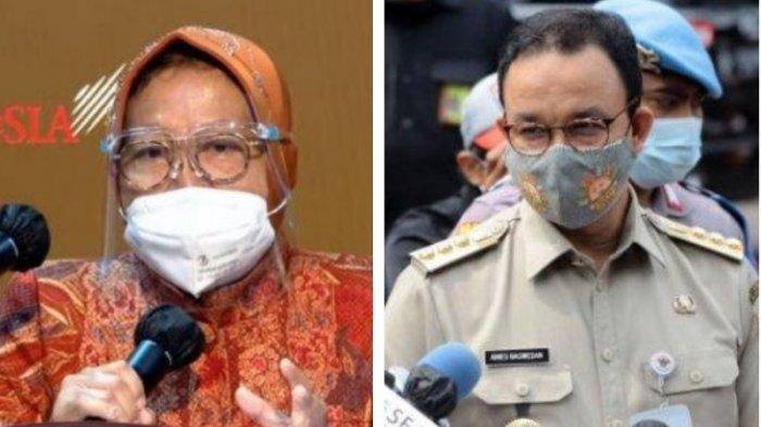 Netizen Bandingkan Gaya Blusukan Risma dengan Anies, Ini Kata Wagub DKI