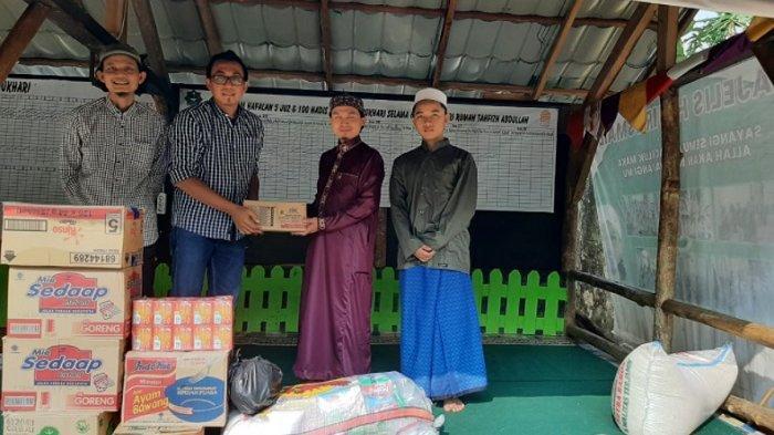 Tribunnews.com dan Kitabisa.com Salurkan Bantuan ke Empat Pesantren di Kabupaten Bogor