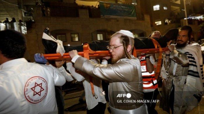 Tribune di Sinagoge Tepi Barat yang Belum Selesai Dibangun Roboh, 2 Orang Tewas dan 150 Lainnya Luka