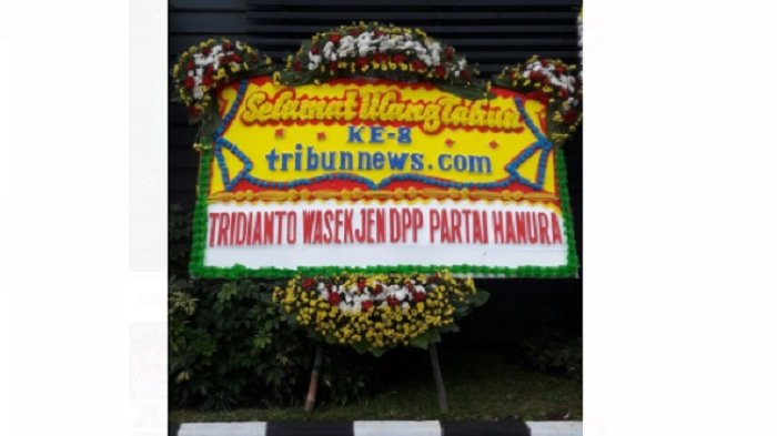 Wasekjen DPP Partai Hanura Tridianto Ucapkan Selamat HUT ke-8 Tribunnews.com