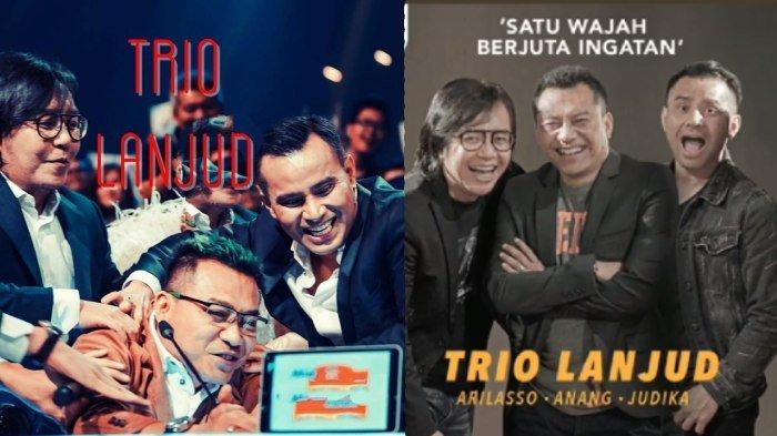 Tergabung Dalam Trio Lanjud, Anang, Ari Lasso dan Judika Ceritakan Single Baru hingga Pemilihan Nama