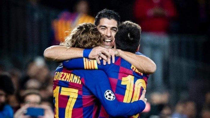 Suarez Bukukan Catatan Baru, Lewati Rekor Gol Legenda Barcelona Era 1950-an