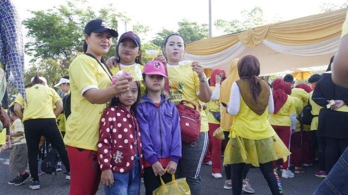Anak-anak Turut Ikuti Senam Tropicana Slim World Diabetes Day 2019