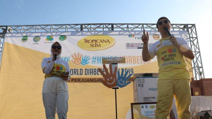 Pembukaan MC Tropicana Slim World Diabetes Day 2019 Bandung
