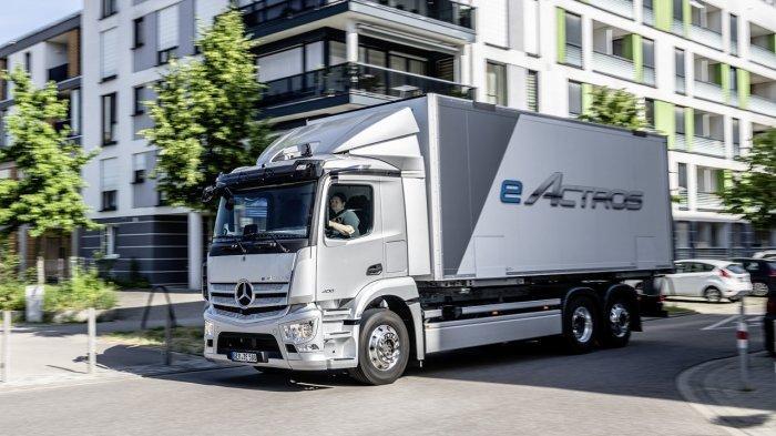 Truk Listrik Mercedes-Benz eActros Resmi Meluncur di Eropa, Bisa Tempuh Jarak 400 Km