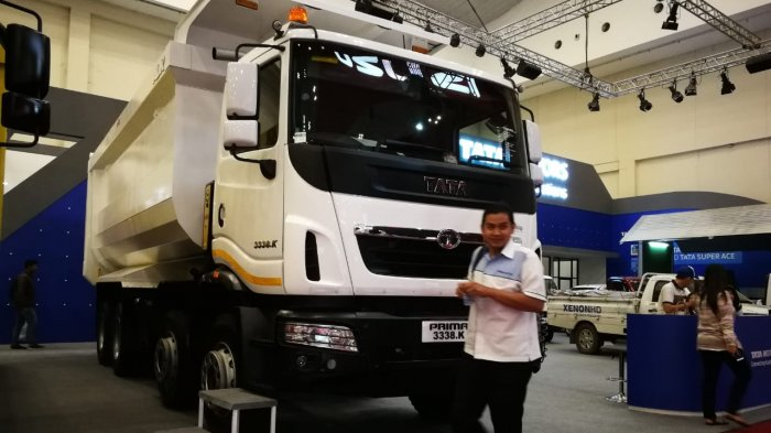 Rekor Baru Tata Motors Selama Ikuti GIIAS: Bukukan 190 SPK Truk dan Pick Up