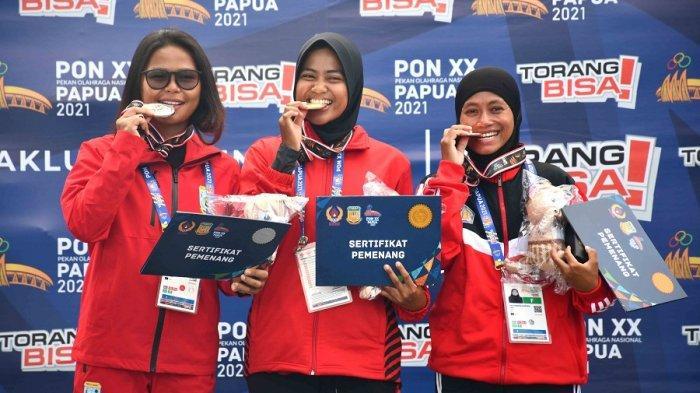 DKI Jakarta Dan Jawa Timur Tambah Medali Emas Selam Laut OBA M Course PON Papua