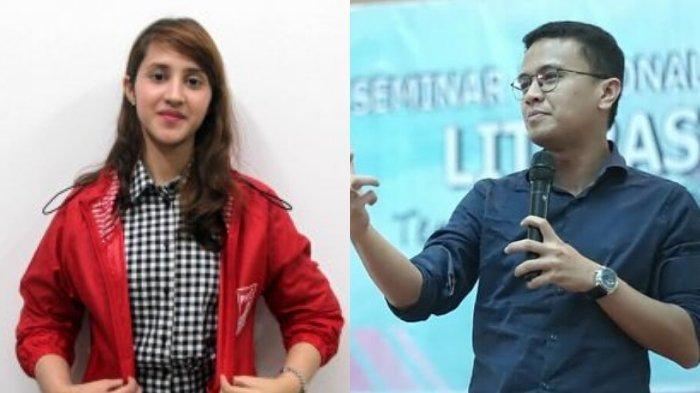 Faldo Maldini Disindir Tak Militan Lagi Dukung Prabowo, Tsamara Sebut Kembali ke Jalan yang Benar