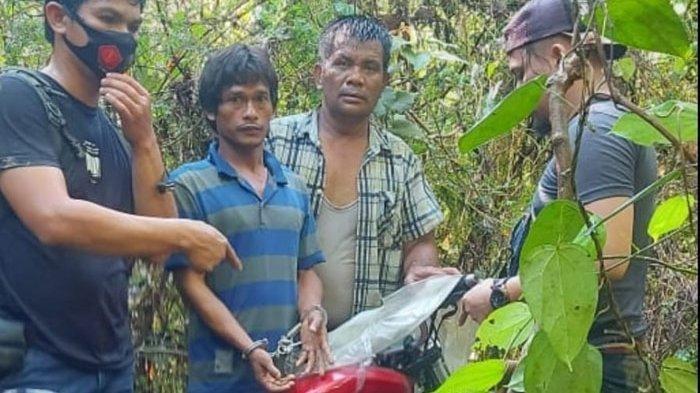 Wajah Sangar Pemeras Sopir Truk di Jalinsum Hilang Saat Ditangkap Polisi