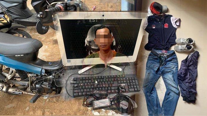 Oknum ASN di Pontianak Diringkus Polisi Gegara Mencuri, Aksinya Terekam CCTV