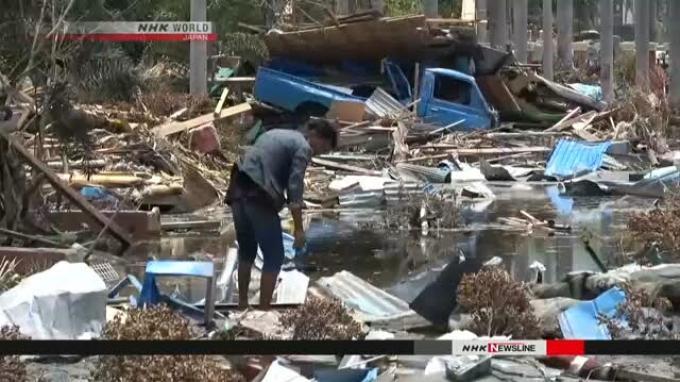 Terseret Tsunami Palu, Bayi 2 Bulan Ini Ditemukan di Atas Pohon Dalam Kondisi Hidup