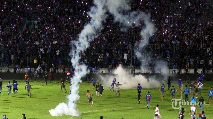 Terhenti karena Ricuh, PT LIB: Laga Arema FC vs Persib Bandung Dinyatakan Selesai, Skor Tetap 2-2