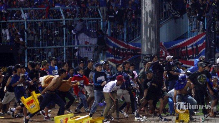 Soal Kericuhan di Laga Arema FC vs Persib Bandung, PT LIB Serahkan Sepenuhnya kepada Komdis