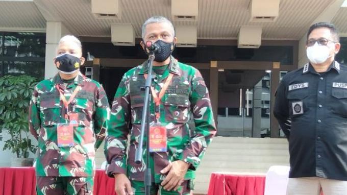 Pusat Kesehatan TNI Bentuk Posko Evaluasi Vaksinasi Prajurit di Satuan Tiga Matra