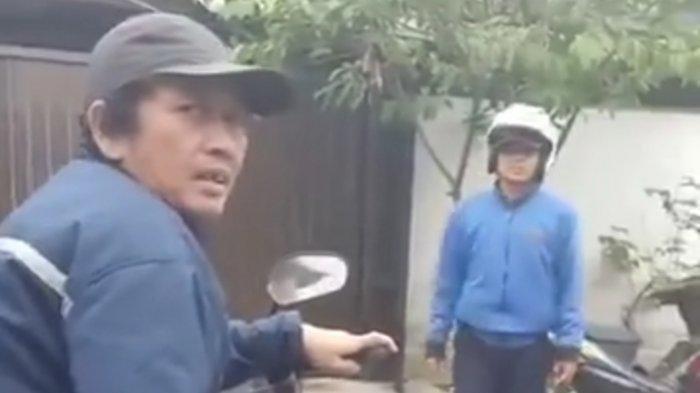 Rekaman video saat opang yang meminta Rp 750.000 kepada penumpangnya