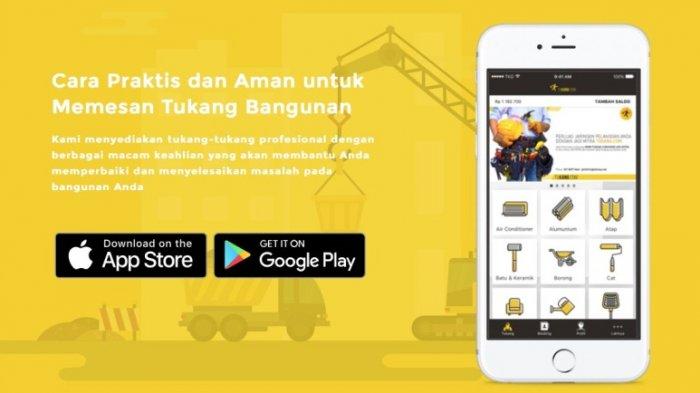 Tukang.com Luncurkan Aplikasi Versi iOS