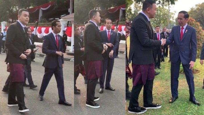 Unggah Potret Keakraban dengan Presiden Jokowi, Penyanyi Tulus: Terimakasih Banyak Pak