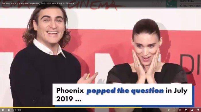 Tunangan 'Joker' Joaquin Phoenix, Rooney Mara Hamil Anak Pertama