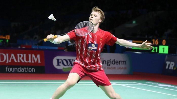 Anders Antonsen Ungkap Kegiatan Masa Karantina dan Berbicara Peluang Olimpiade