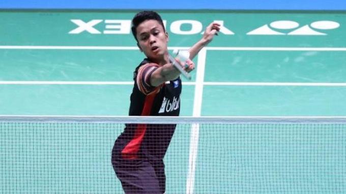 Hasil Japan Open 2019: Laga Alot, Anthony Ginting Kalahkan Wakil Thailand Lewat Rubber Game