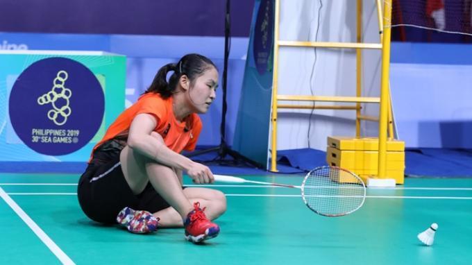 Hasil Bulutangkis SEA Games 2019: Kalah dari Wakil Malaysia Dalam Rubber Game, Ruselli Raih Perak