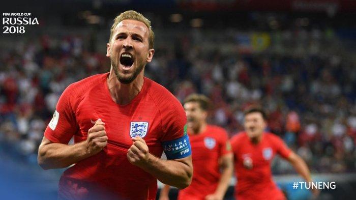 Puncaki Daftar Top Skor, Harry Kane Hampir Dipastikan Bawa Pulang Sepatu Emas Piala Dunia 2018