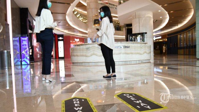 Pusat Perbelanjaan di DKI Jakarta yang Jual Bahan Pangan dan Farmasi Boleh Buka