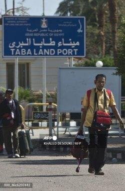 Turis dari India tiba di Mesir