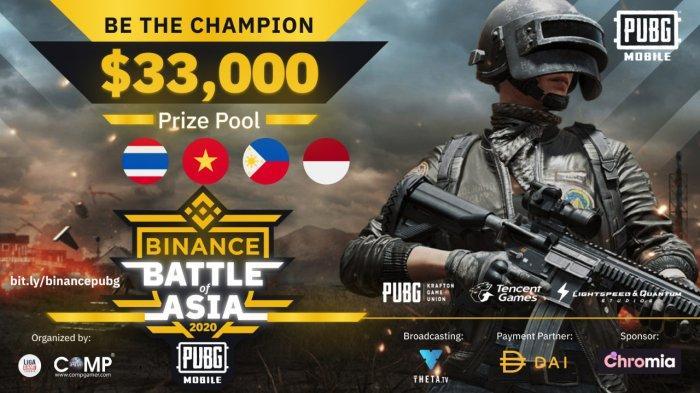 Kejuaraan Esports Binance Battle of Asia Libatkan Empat Negara dengan Hadiah Rp 500 Juta