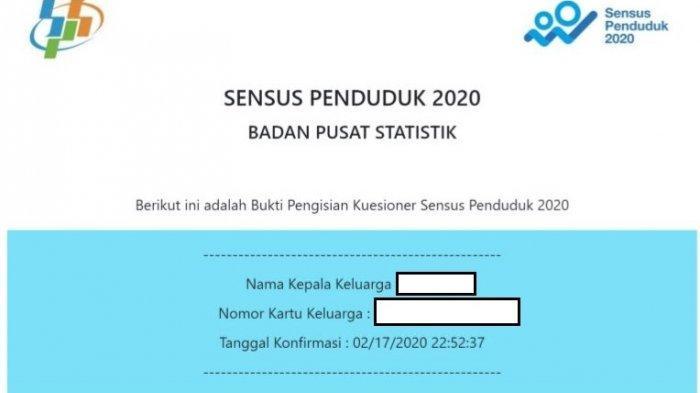 Statistik Bps Sensus Penduduk 2020