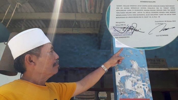 Warga Bandung Hilang Uang Tiap Malam, Pak RW Bikin Imbauan Pemilik Tuyul Ingat Surat An-Nisa