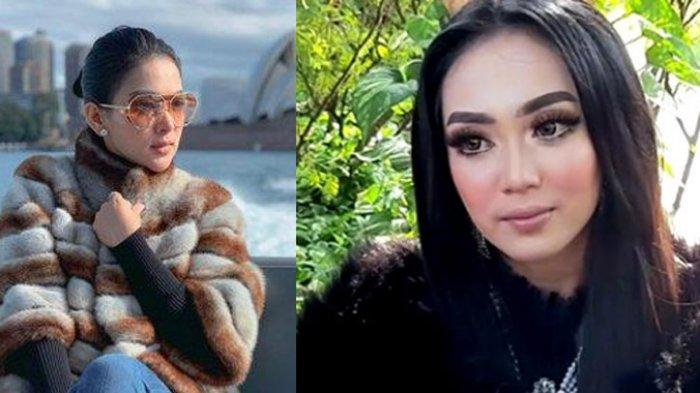 Tyara Melatis, yang disebut mirip Syahrini ketika ditemui di gedung Trans TV, Jalan Kapten Tendean, Mampang Prapatan, Jakarta Selatan, Senin (6/7/2020).