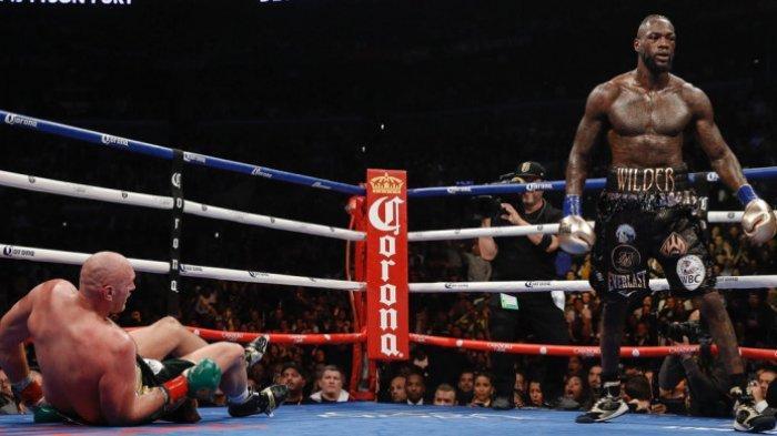 Live Streaming Tinju Dunia Indosiar, Tyson Fury vs Deontay Wilder, Gypsy King vs Bronze Bomber