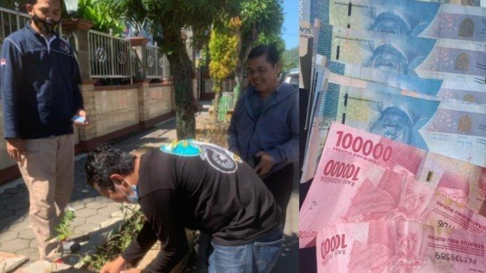 Heboh Uang Pecahan Rp 100 Ribu dan Rp 50 Ribu Bertebaran di Jalan Sudirman Wonogiri