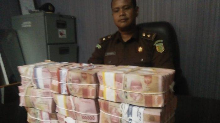 Jaksa Terima Pengembalian Uang Proyekj dari Tiga Tersangka Korupsi Sebesar Rp 893 Juta