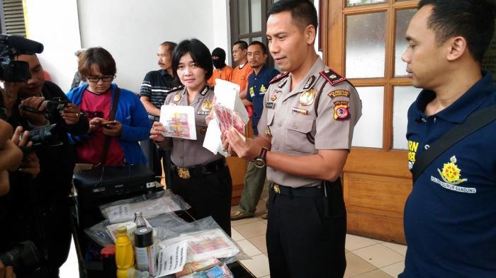 Sindikat Pengedar Uang Palsu di Kota Bandung Terungkap, Upal Rp 278,9 Juta Diamankan