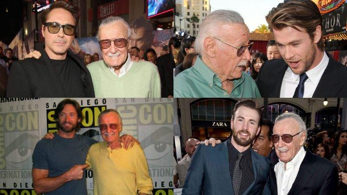 Stan Lee Meninggal - Pemeran Iron Man, Wolverine, Deadpool, Thor, Hulk Sampaikan Belasungkawanya