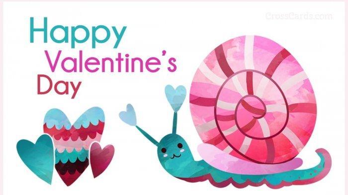 ILUSTRASI Ucapan Selamat Hari Valentine